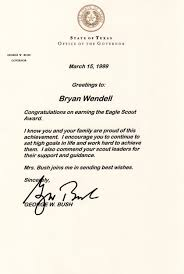 how to request congratulatory letters for your eagle scout bryan  my eagle scout letters