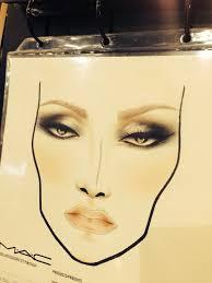 facechart mac cosmetics schiphol airport mua yohana van der pool