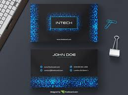 tech business card tech pixel business card freebcard