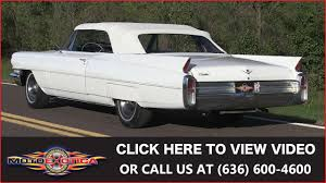 1963 Cadillac DeVille Convertible || For Sale - YouTube