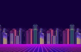 8-Bit Synthwave Wallpapers on WallpaperDog