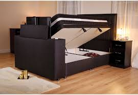 king size tv bed. Delighful Bed Sweet Dreams Image Sparkle TV Bed 5FT King Size Side Opening Ottoman In Tv