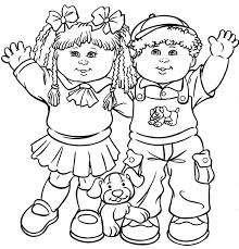 Kids Coloring Page Getcoloringpagescom