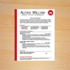 Graphic Design Resume Template Awesome Graphic Designer Resume Template Career Goods