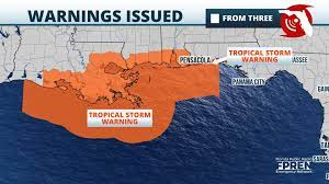 Tropical Storm Warning Extended Into ...
