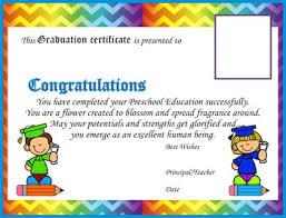 Preschool Graduation Certificate Editable Graduation Certificates Kindergarten Preschool Editable Tpt