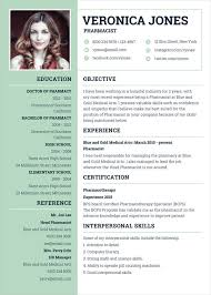 Latest Resume Templates New Pharmacist Resume Template 28 Free Word PDF Document Downloads
