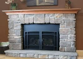 elk ridge stone fireplace mantel kits