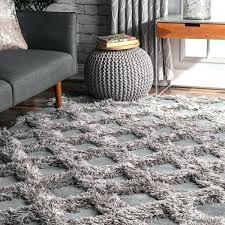 plush area rugs silver soft and plush diamond raised trellis area rug gray rugs for