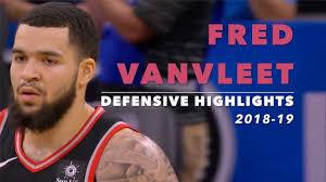 Fred VanVleet Defensive Highlights ...