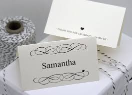 Printable Place Cards Template Wedding Download Them Or Print