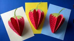 Strawberry Paper Craft