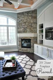 outstanding corner fireplace with built ins pics ideas
