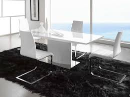 white modern dining room sets. Luxury White Dining Room Table Set Modern Sets G
