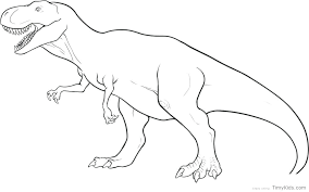 Free Printable Dinosaur Coloring Pages Dinosaurs T Rex