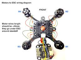 flexrc pico core motors wiring diagram flex rc motors to esc connection diagram