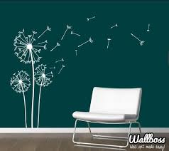 dandelion wall stickers unique dandelion wall sticker