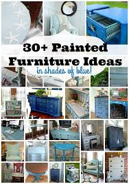 diy painted furniture ideas. 30 Painted Furniture Ideas In Shades Of Blue And More At Refresh Restyle Diy