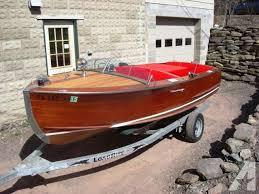 century chris craft wooden boat classic for in harveys lake pennsylvania