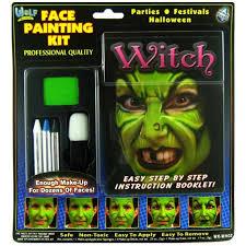 face paint set witch