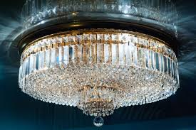 glass chandelier premium ceiling