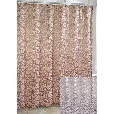 avanti branches fabric shower curtain in silver or gold
