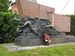 Город герой Смоленск Мемориальный знак в честь освобождения Смоленщины