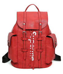 supreme red backpack supreme red backpack at low snapdeal