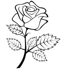 roses coloring sheets fine p rose sheet pages printable color