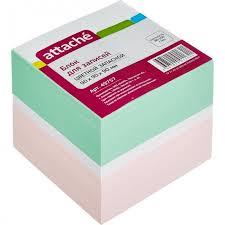 <b>Attache Блок</b>-кубик запасной цветной 9х9х9 см - Акушерство.Ru