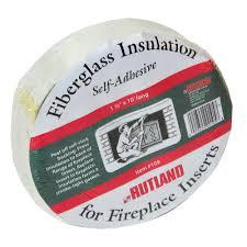 fireplace insert insulation self adhesive