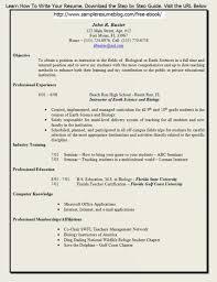 Resume Formats For Teachers Musiccityspiritsandcocktail Com