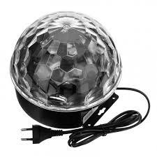 Диско-<b>шар Led</b> Crystal Magic Ball <b>Light</b>