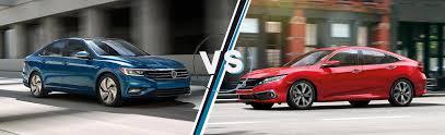 Volkswagen Jetta Vs Honda Civic L Joe Machens Volkswagen Of