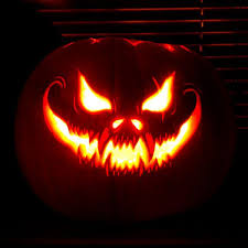 Image result for scary pumpkin carvings