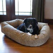 bowsers platinum series microvelvet donut dog bed  hayneedle
