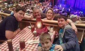 Tiered Seating Picture Of Hatfield Mccoy Dinner Show
