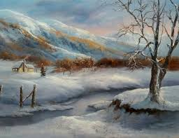 in the mountains oil painting by kevin hill watch short oil painting lessons