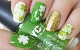 St. Patrick's Day Nail Tutorial (Konad Stamping) - YouTube