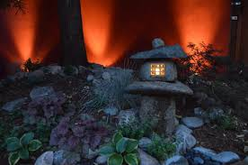 japanese outdoor lighting. Japanese Lantern With Outdoor Lighting A