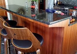 Amazing DIY Kitchen Island Bar without Corbels to Support Granite