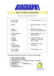 How To Write A Biography   Upper Primary School Students     riobrazil blog