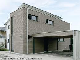 Wohnhaus Mit Einer Grauen Holzfassade Dura Patina Rhombusleiste