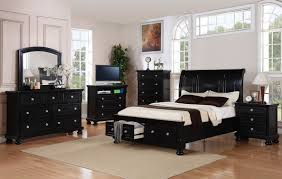bedroom decor with black furniture bedroom compact black wood bedroom furniture painted wood pillows lamps chrome black furniture room ideas