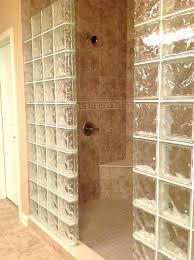 glass block shower kits glass block shower wall bathroom glass block shower wall bathroom glass block