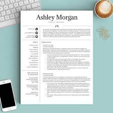 ... Modern Resume Templates 15 Pretty Initials Design On This Professional  Template ...