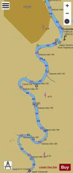 Savannah River Brier Creek To Augusta Ii Jj Marine Chart