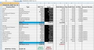 Free Accounting And Bookkeeping Excel Spreadsheet Template