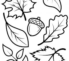 Fall Leaves Coloring Pages Coloring Pages Leaves Autumn Best Fall