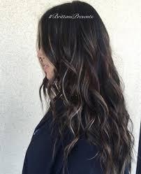 Dark Brown Brunette With Pale Blonde